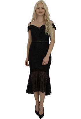 Arda New Line Kadın Siyah Abiye 1301460-10.01