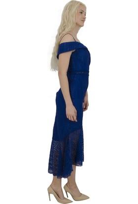 Arda New Line Kadın Saks Abiye 1301460-10.26