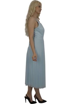 Arda New Line Kadın Mavı Abiye 130156-10.16