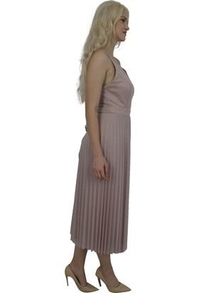 Arda New Line Kadın Gül Kurusu Abiye 130156-10.25