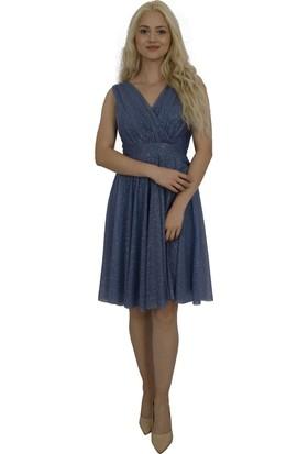 Arda New Line Kadın İndigo Elbise 9704507-10.98