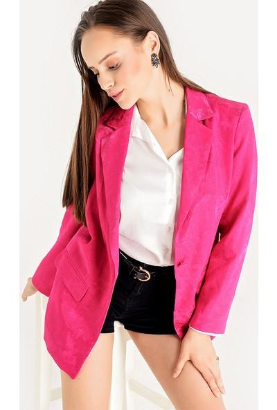 Koton Kadın Desenli Ceket