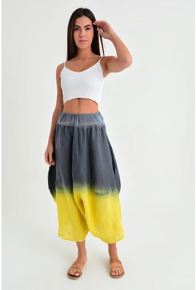 Pua Fashion Kadın İtalyan 2 Renkli Pantolon