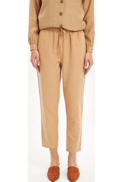 Defacto Kadın Relax Fit Dokuma Pantolon