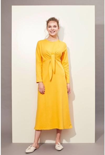 DeFacto Bağlama Detaylı Örme Elbise M0412AZ19HS