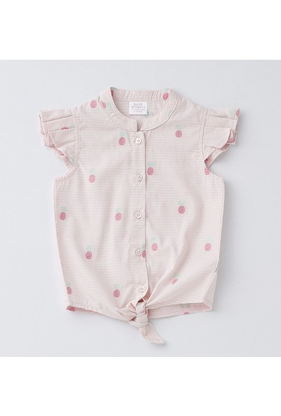 Wonder Kids Kız Bebek Gömlek