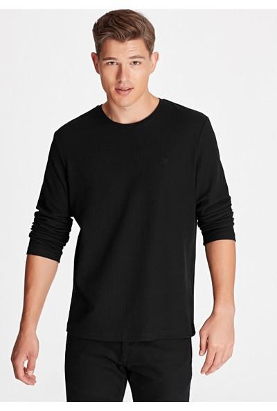 Uzun Kollu Siyah Tişört 065755-900