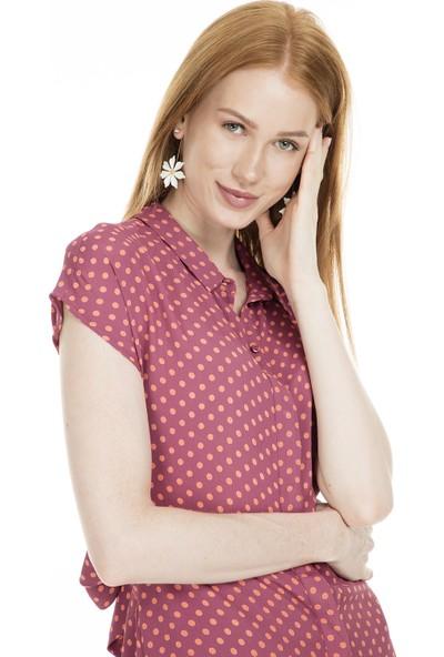 Vero Moda Puantiyeli Maxi Vmabigail Elbise Kadın Elbise 10223561