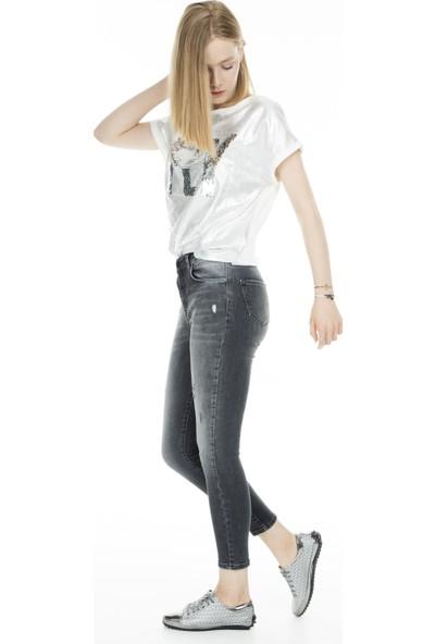 Lela Jeans Kadın Kot Pantolon 8523F659Martha