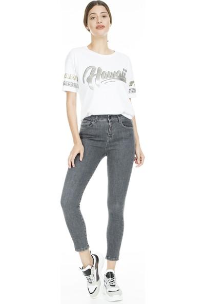 Lela Yüksek Bel Skinny Jeans Kadın Kot Pantolon 8523T742Martha