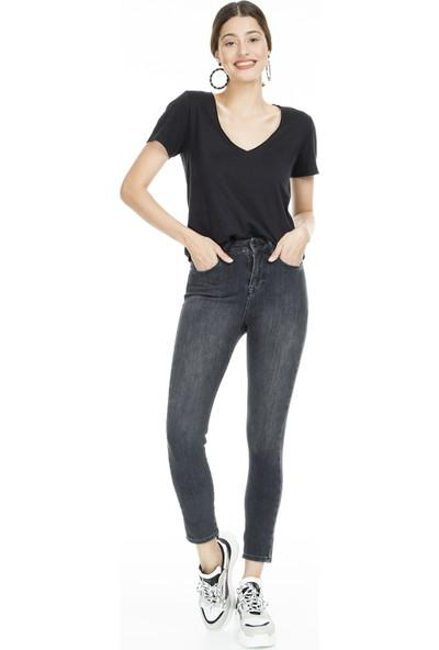 Lela Yüksek Bel Skinny Jeans Kadın Kot Pantolon 8523T743Martha