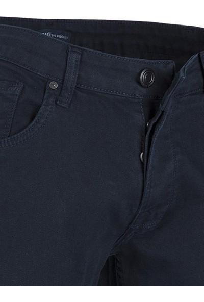 Five Pocket Porto Erkek Jean Kot Pantolon 7092-H820