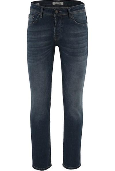 Five Pocket Porto Erkek Jean Kot Pantolon 7124-F162
