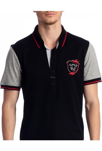 Toss Erkek T-Shirt Siyah