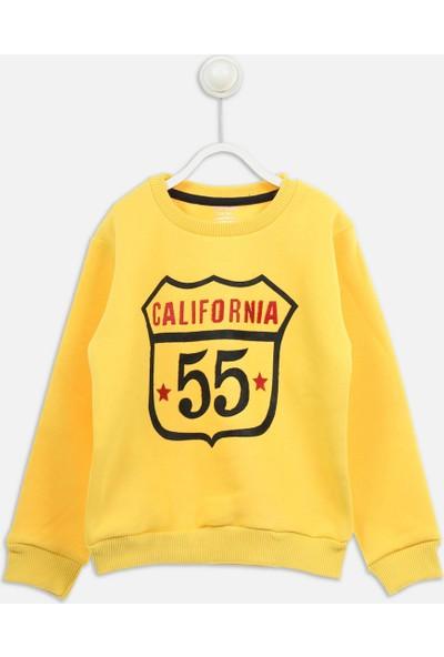Modakids Sarı Kışlık Erkek Çocuk Sweatshirt