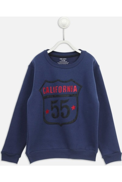 Modakids Indigo Kışlık Erkek Çocuk Sweatshirt