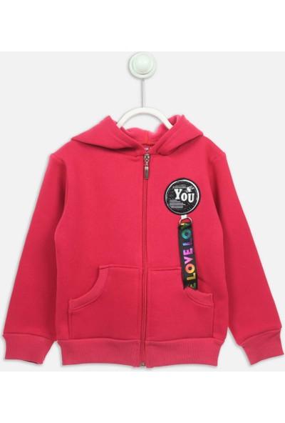 Modakids Fuşya Kışlık Kız Çocuk Ceket