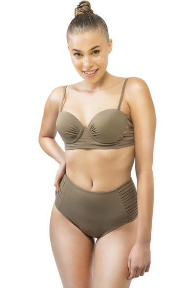 Bonesta Swimwear Kadın Biyeli Kaplı Bikini