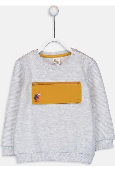 LC Waikiki Erkek Bebek Sweatshirt