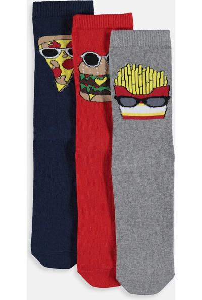 LC Waikiki Erkek Çocuk Soket Çorap 3'Lü