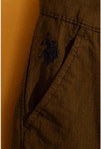 U.S. Polo Assn. Erkek Çocuk Dokuma Capri Bermuda 50198863-Vr027