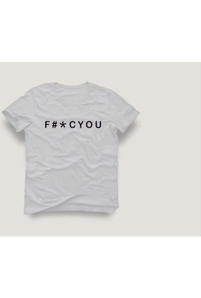 Tshirtadam Beyaz Kısa Kollu T-Shirt