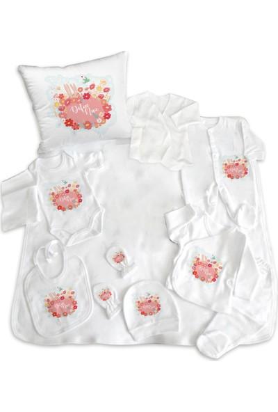 İncili Baby Çiçekli Tavşanlı Hastane Çıkışı 11'li Set