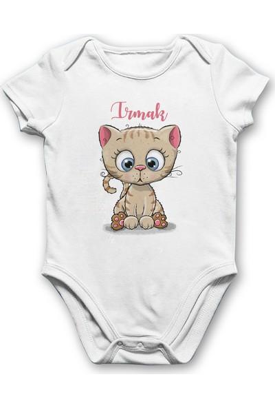 İncili Baby Kedicikli Bebek Body