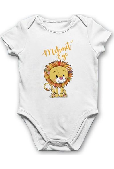 İncili Baby Aslanlı Bebek Body