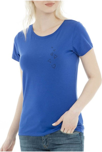 Jacqueline De Yong T-Shirt Chicago Print Top 15172085-Srf