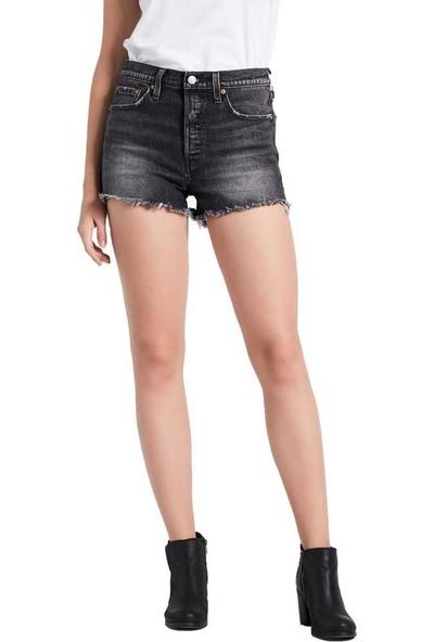 Levi's Kadın Jean Şort High Rise 501 56327-0017