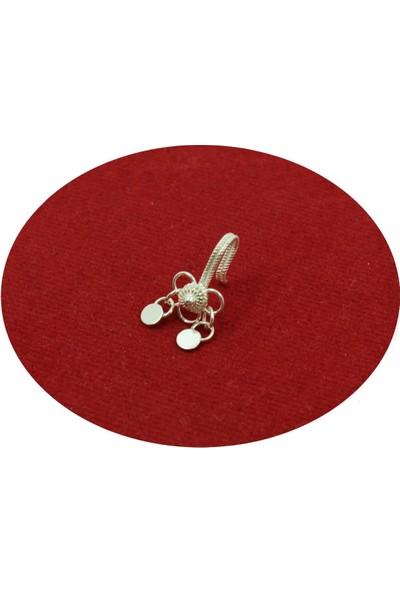 Aykat Sıkıştırmalı Hızma Telkari Gümüş El Yapımı Hızma Kıstırmalı Mardin Hızması Modeli Hızma-06