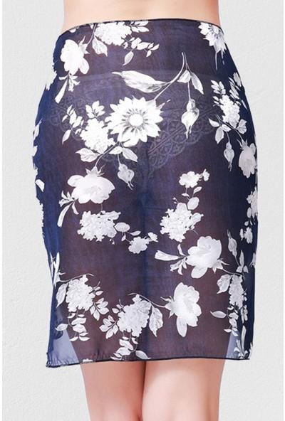 Mite Love Pareo Çiçek Desenli Seksi Plaj Giyim