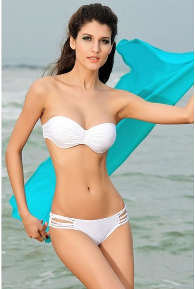 Mite Love Kadın Plaj Elbisesi Turkuaz Kısa Pareo