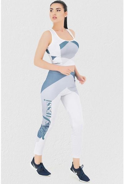 Mite Love Mite love Fitness Takım Tayt Parlament Mavi