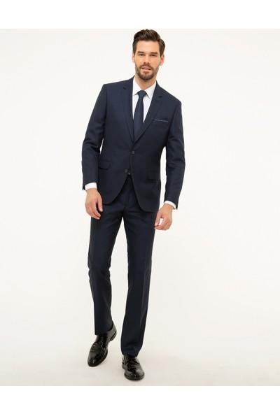 Pierre Cardin Lacivert Slim Fit Takım Elbise 50208591-VR033