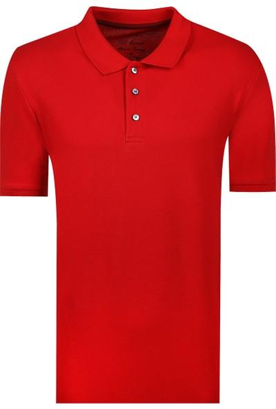 D'S Damat Erkek Regular Fit Tshirt Kırmızı
