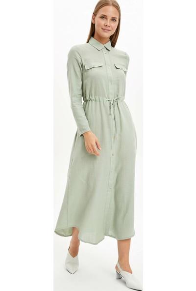 Defacto Kadın Beli Ipli Uzun Tunik