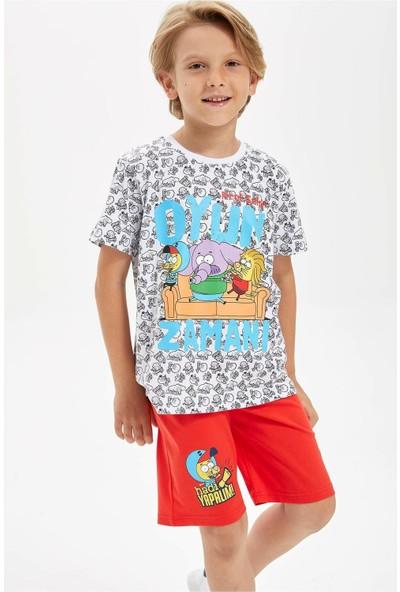 Defacto Erkek Çocuk Kral Şakir Lisanslı Pijama Takımı