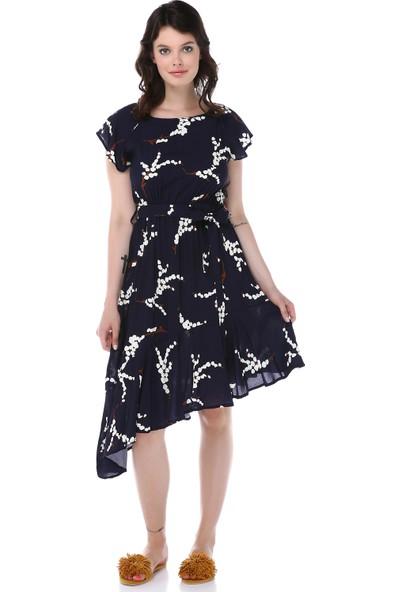 Graffin Kadın 9020 Desenli Elbise