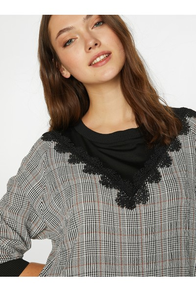 Faik Sönmez Kadın Sweatshirt 39560