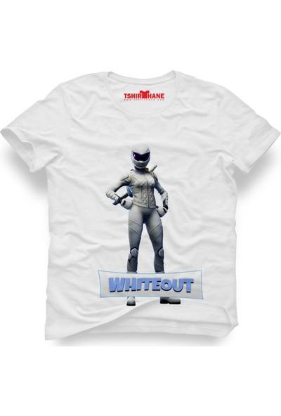 Tshirthane Fortnite Whiteout Erkek T-Shirt