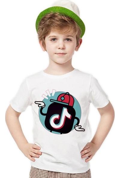 Tshirthane Tik Tok Musically Erkek Çocuk T-Shirt