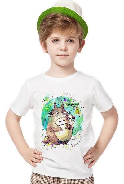 Tshirthane Totoro Erkek Çocuk T-Shirt