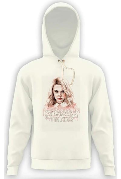 Tshirthane Stranger Things Eleven 11 Erkek Sweatshirt