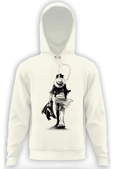 Tshirthane One Piece Erkek Sweatshirt