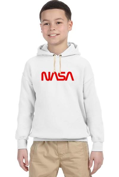 Tshirthane Nasa Mars Uzay Çocuk Sweatshirt