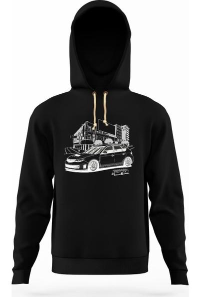 Tshirthane Subaru hatchback Erkek Sweatshirt