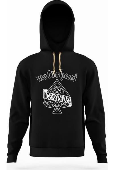 Tshirthane motörhead ace of spades album Erkek Sweatshirt