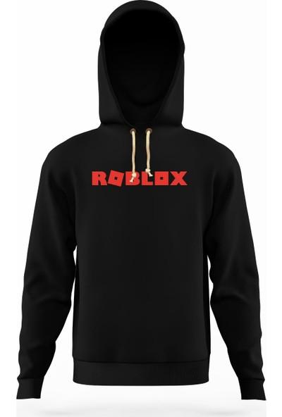 Tshirthane Roblox logo Erkek Sweatshirt